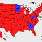 United States Presidential Election, 1980   Wikipedia For 1980 Presidential Election Results By State Map