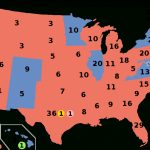 United States Presidential Election, 2016   Wikipedia Throughout States Trump Won Map
