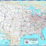 United States Road Map Printable Of Usa With And Cities – Peterbilt Inside Printable State Road Maps