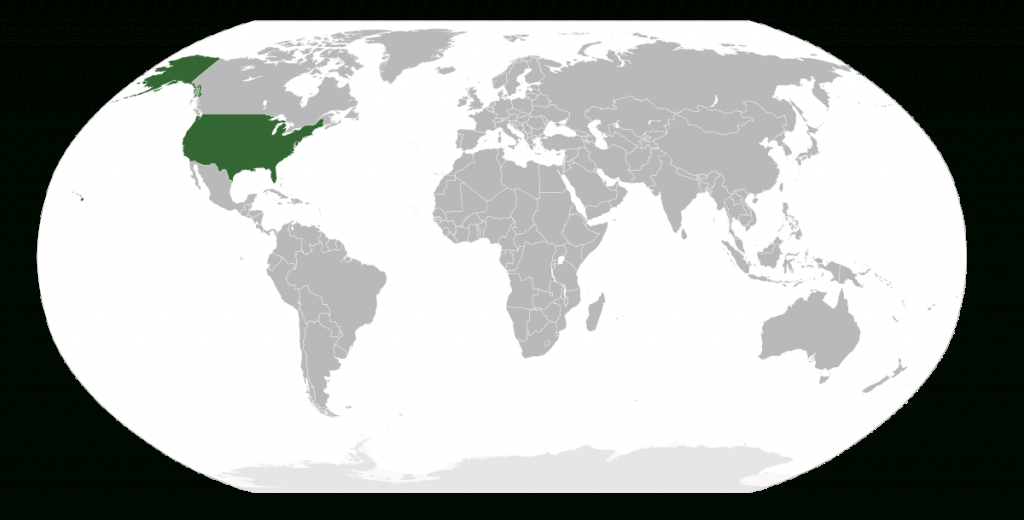 United States Territory - Wikipedia for Map Of The World With Us States