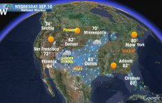 United States Weather Map Radar Refrence Map Of Us Weather Forecast throughout New York State Weather Map