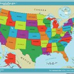 Unites State Map And Travel Information | Download Free Unites State Map Within Map Of The United States Of America With States Labeled