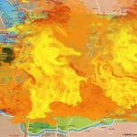 Updated Map Of Washington State Fires | Viralswarm With Regard To Map Of The Washington State Fires
