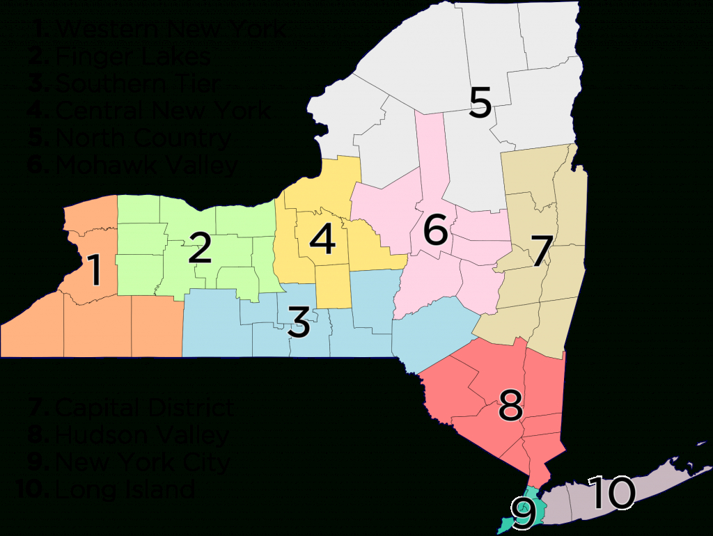 Upstate New York - Wikipedia with regard to Map Of Northern Ny State