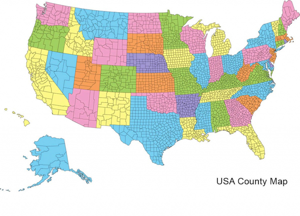 Us County Map | Counties | Pinterest | County Map, Map And Geography for United States County Map