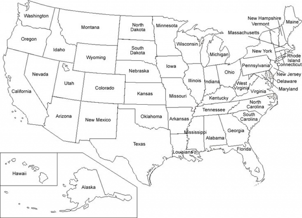 Us Map Coloring Pages | Educational Coloring Pages | Pinterest | Map in Printable Map Of The United States