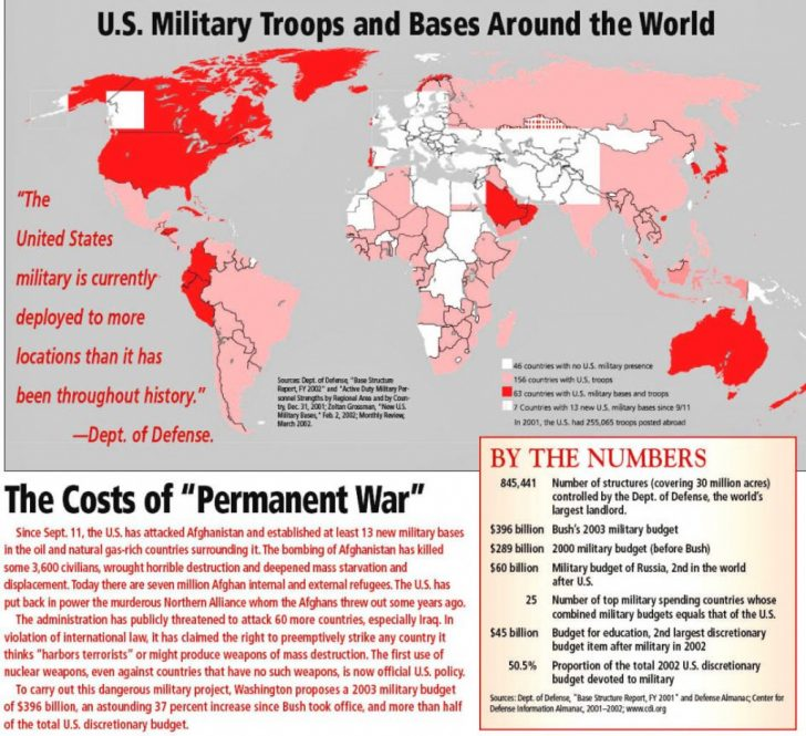 Military Bases United States Map
