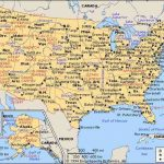Us Map Of States And Cities And Travel Information | Download Free Intended For State Map With Cities