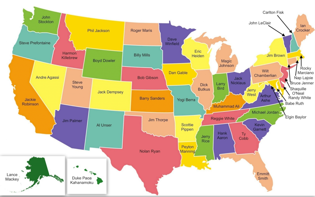 Us Map Showing All 50 States Usa States Map Save Us Map Showing All pertaining to Map Of Usa Showing All States