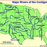 Us Map States Labeled United States Map With Rivers And States With Regard To A Labeled Map Of The United States