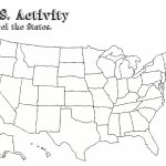 Us Map With Capitals Printable Geography Blog Printable United Within Blank States And Capitals Map Printable