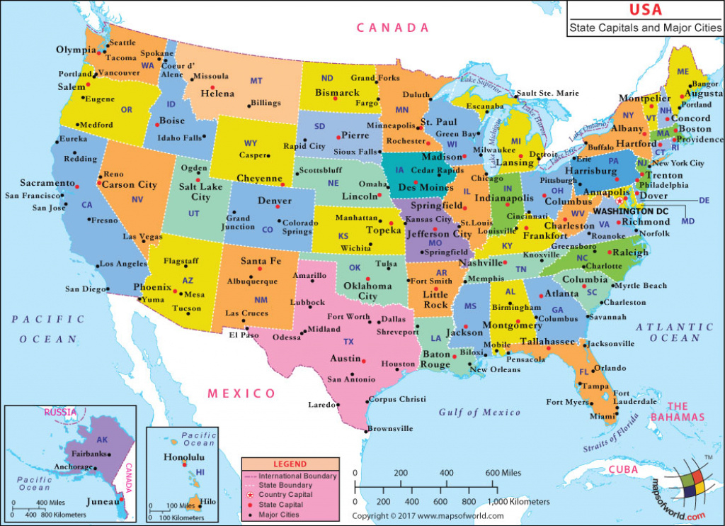 Us Map With Major Cities in Usa Map With States And Cities Google Maps