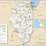 Us Map With State Lines 21 Awesome Map Illinois And Surrounding Throughout State Lines Map