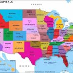 Us Map With States Capitals And Abbreviations Abbreviation How Many With Usa Map With States Capitals And Abbreviations