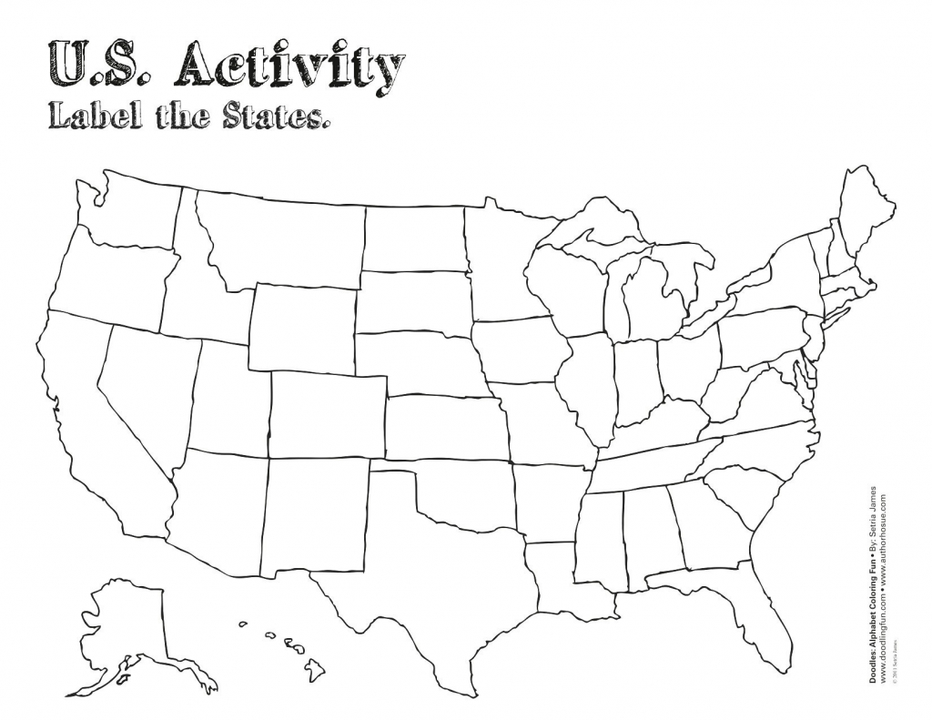 Us Map With States Printable Us Map States Printable Us Map Refrence intended for Printable Us Map With States
