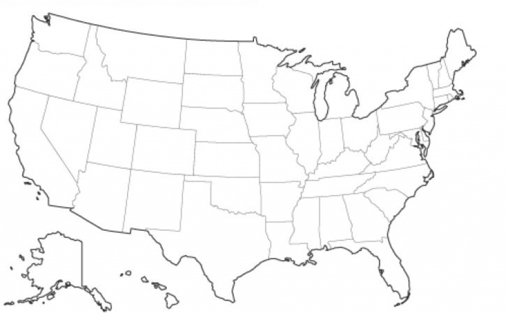 Us Map Without Names | Printable Map Hd with Us Map Without State Names