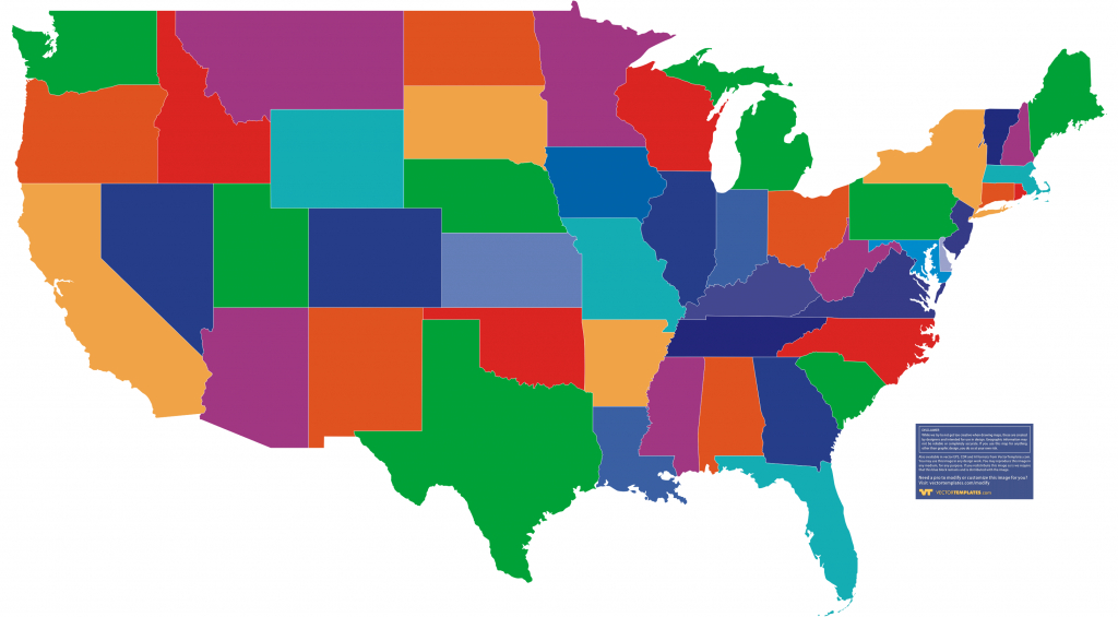 Us Maps, Usa State Maps in Us Map With State Borders
