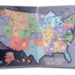 Us Mint, Whitman And Harris State Quarter Maps Throughout State Series Quarters Collector Map