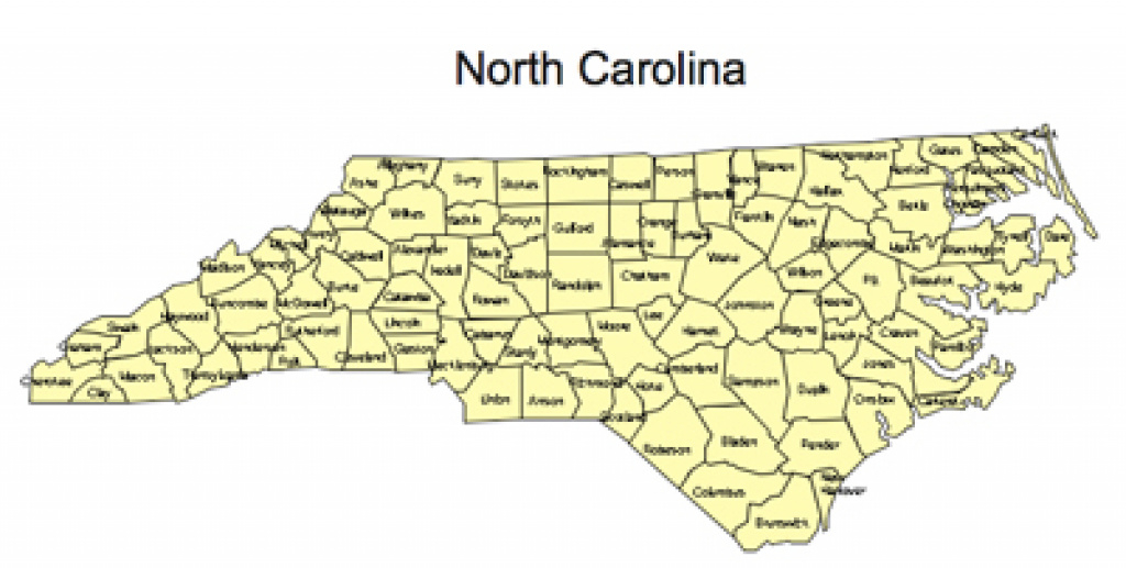Us Printable County Maps, Royalty Free intended for Nc State Map With Counties