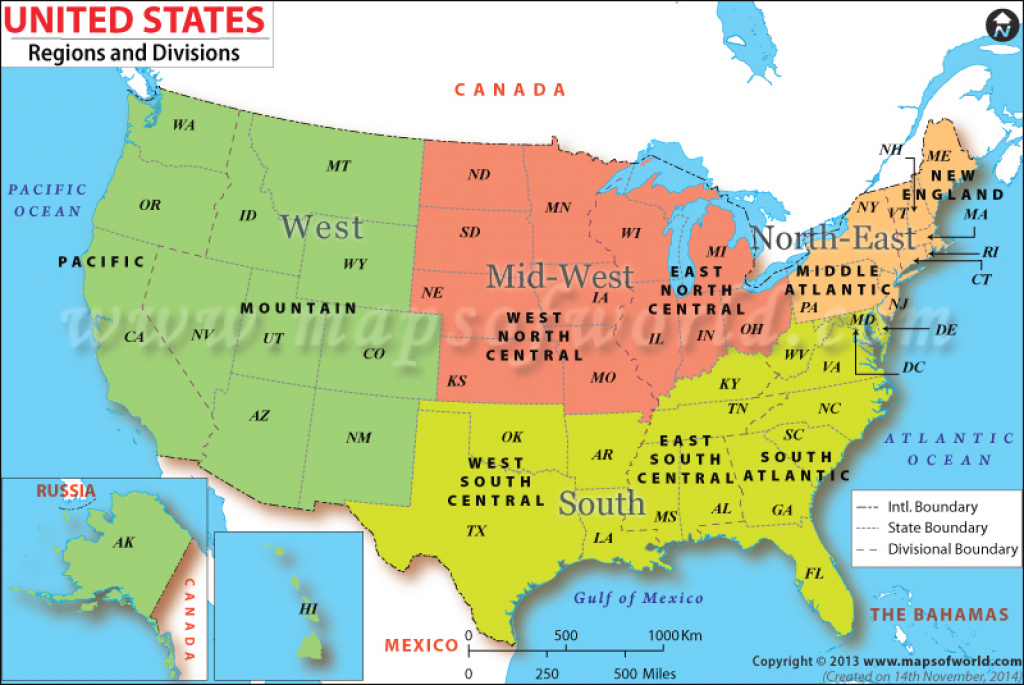 Us Regions Map pertaining to State Of The Map Us 2015