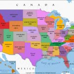 Us State Map, 50 States Map, Us Map With State Names, Usa Map With Throughout Picture Of Us Map With States
