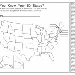 Us State Map Label Worksheet Geography Blog Outline Maps United Throughout 50 States Map Worksheet