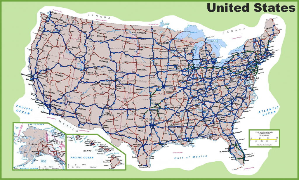 Us States And Major Cities Map Usa Major Cities 2016 Fresh United with Road Map Of The United States With Major Cities