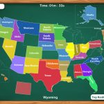 Us States Map Games For Ipad United States Physical Map Interactive Pertaining To Us States Map Game