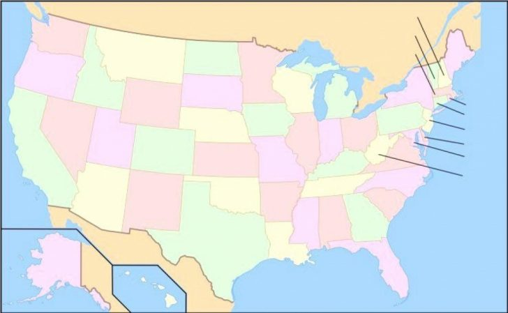 American States Map Quiz