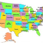 Us States Map Quiz Us States Map Game The Us States Printables Map Inside Us States Map Game