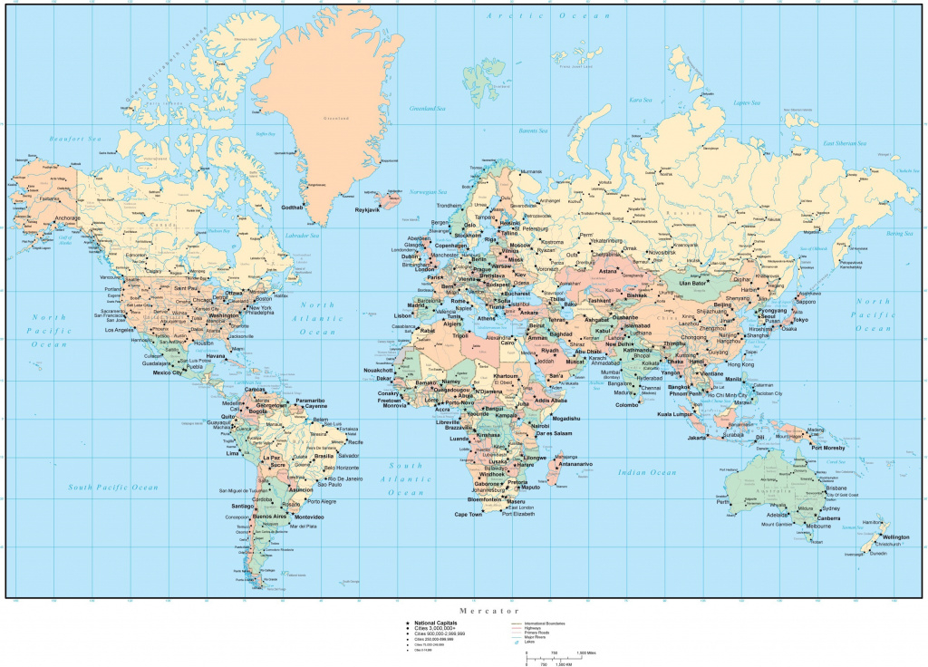 Us States Map With Capitals And Hd Valid Best Of World   Hubertcampan intended for World Map With States And Capitals