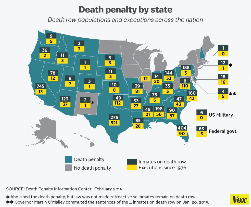 Us States Map With Capitals Archives - Mymplace Inspirationa Us regarding Death Penalty States Map