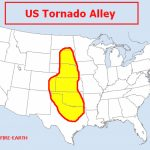 Us Ta Feww Inspirational Map Of Tornado Alley   Collection Of Map In Tornado Alley States Map