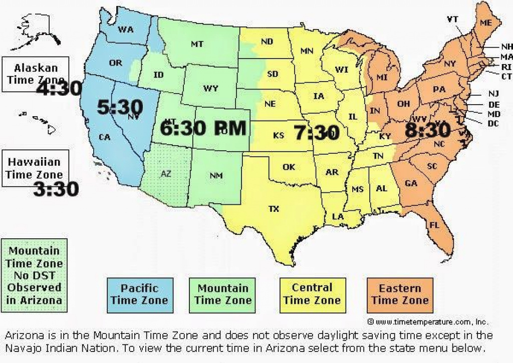 Us Time Zone Map United States - Yahoo Image Search Results | Lj regarding State Time Zone Map