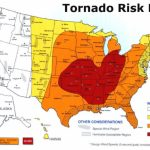 Us Tornado Alley Maps Show The Tornado Risk Regions In The Usa Throughout Tornado Alley States Map