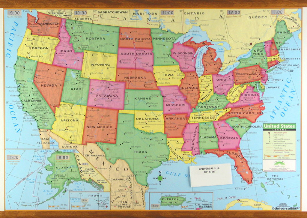 Us Wall Maps within State Wall Maps