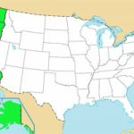 Usa Geography Quizzes   Fun Map Games With Regard To Pacific States Map