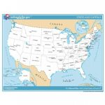 Usa Map Pdf   Free Downloadable Pdf (Printable) Throughout Usa Map With States And Cities Pdf