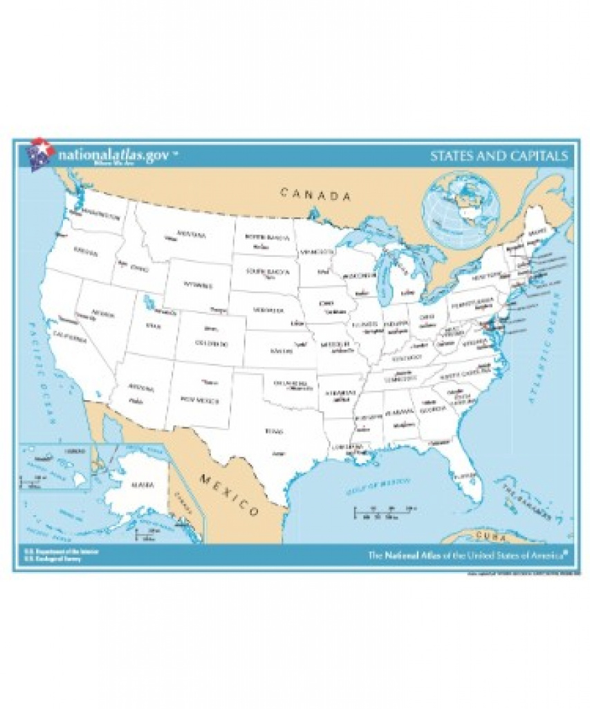 Usa Map Pdf - Free Downloadable Pdf (Printable) throughout Usa Map With States And Cities Pdf