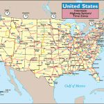 Usa Map With Highways And Travel Information | Download Free Usa Map Regarding Us Highway Maps With States And Cities