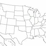 Usa Map Without State Names Inspirational 50 States Map Without Intended For Us Map Without State Names