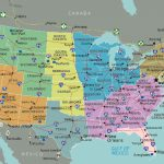 Usa Road Map Unique Highway Map Of The United States With Major With Road Map Of The United States With Major Cities