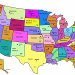 Usa States Labeled Blank Capitols Geography Country Maps U Best Of With Regard To Map Of The United States Of America With States Labeled