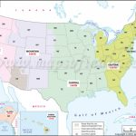 Usa Time Zone Map, Current Local Time In Usa With United States Of America Time Zone Map