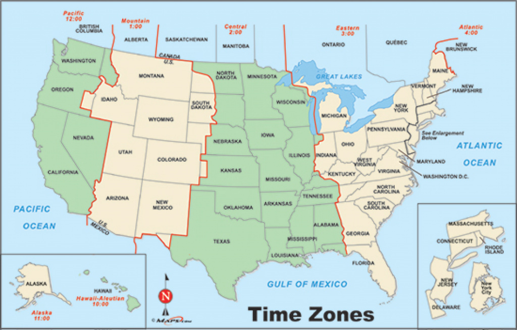 Usa Time Zone Map Random Of United States Zones Vishawa Throughout in Map Of Time Zones In United States