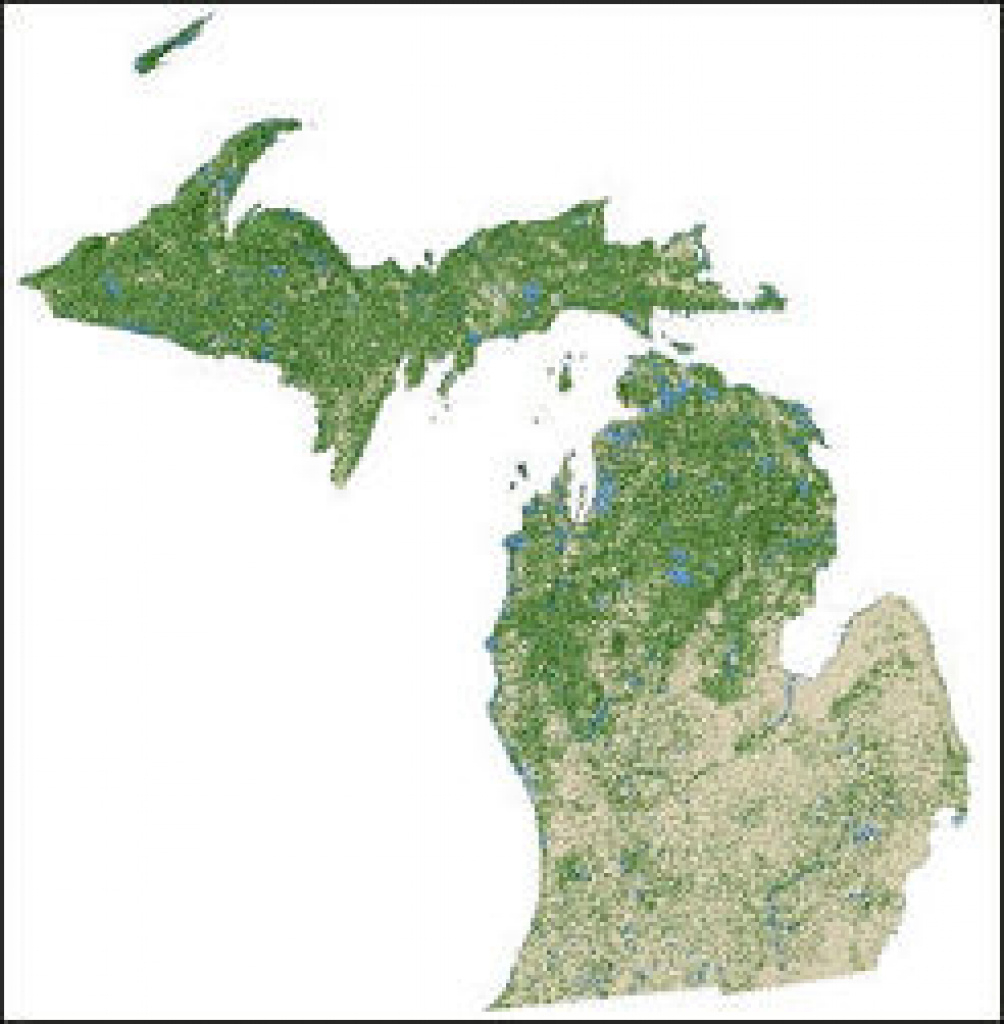 Usda Forest Service inside Michigan State Forest Map