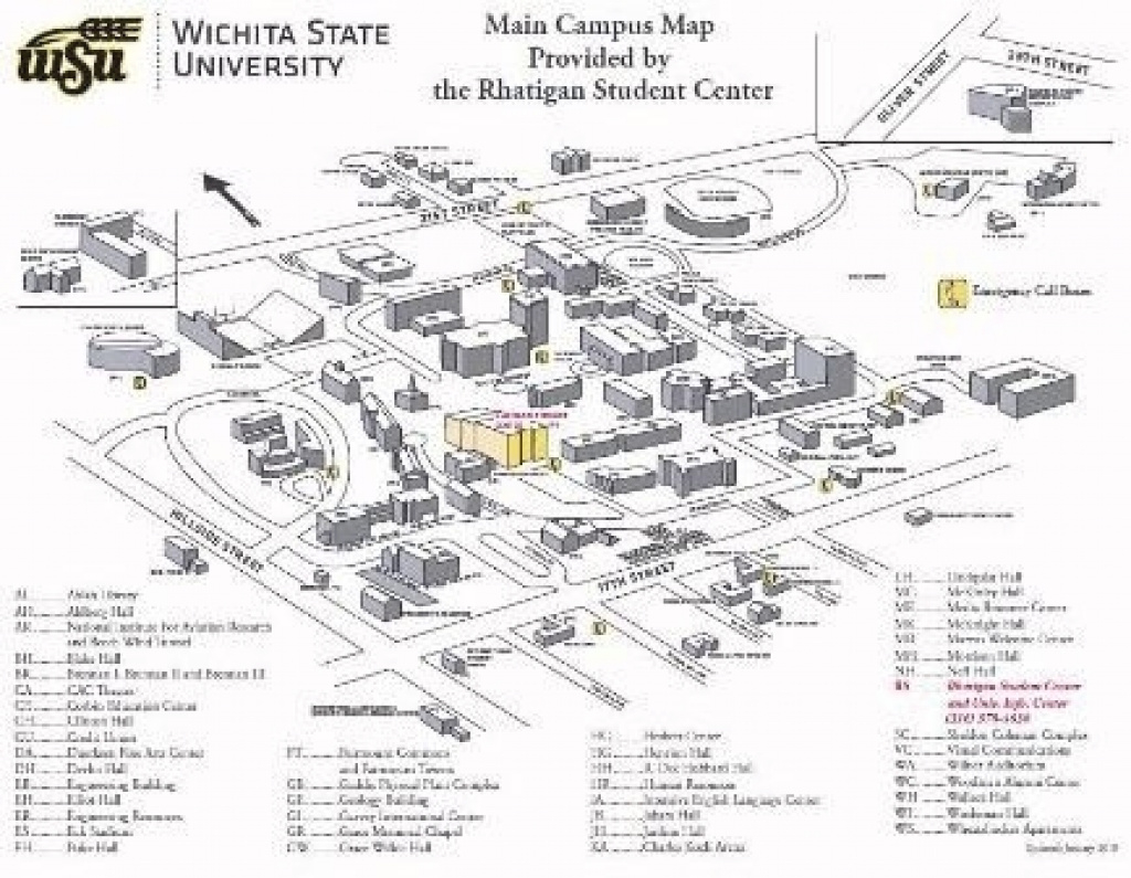 Usfca Campus Map | America Map regarding Wichita State University Campus Map Pdf