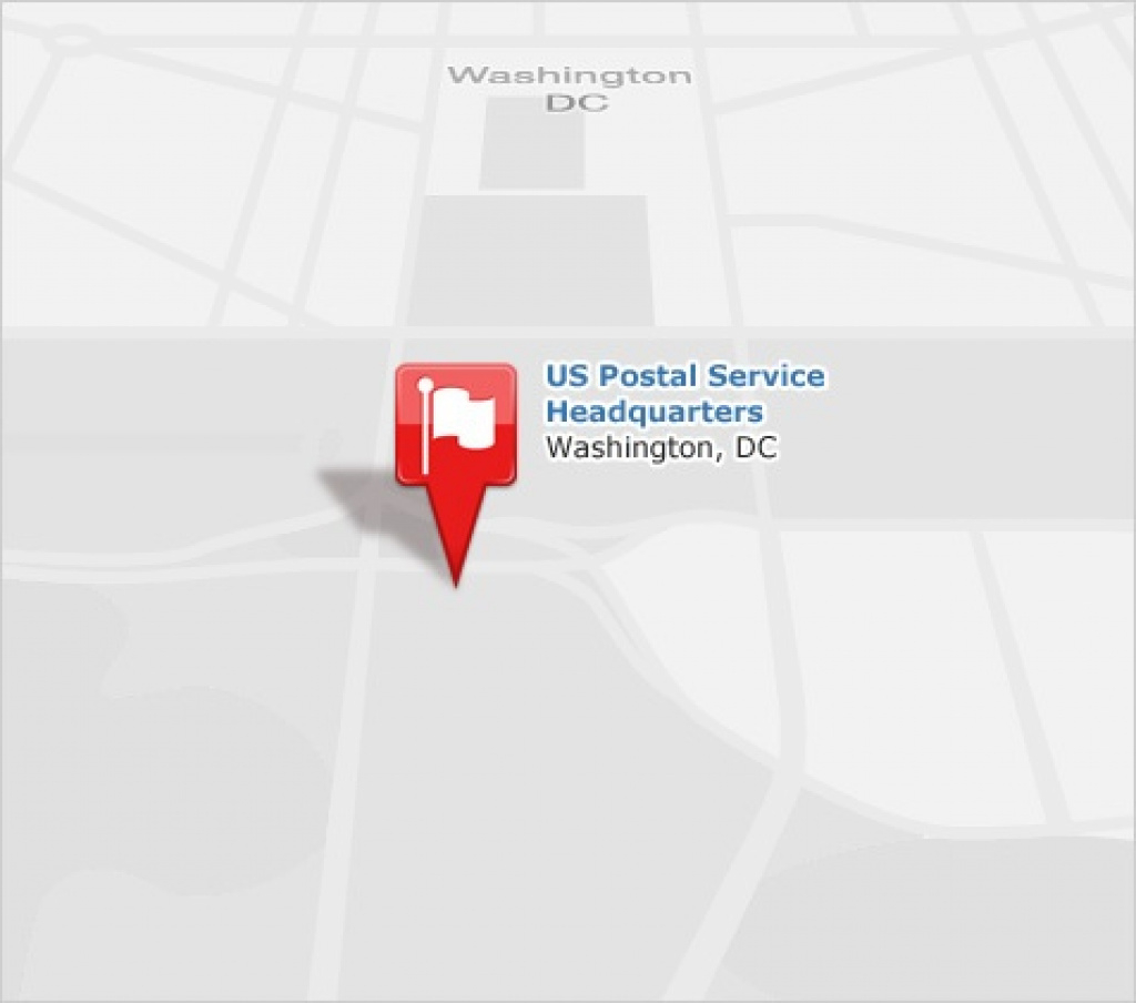 Usps® - Find Locations with Usps Zip Code Map By State