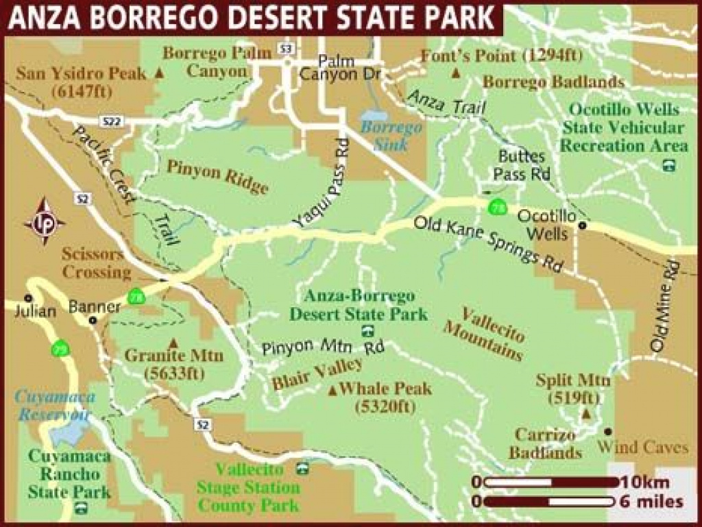Utah State Map With National Parks #770974 with regard to Anza Borrego Desert State Park Map Pdf