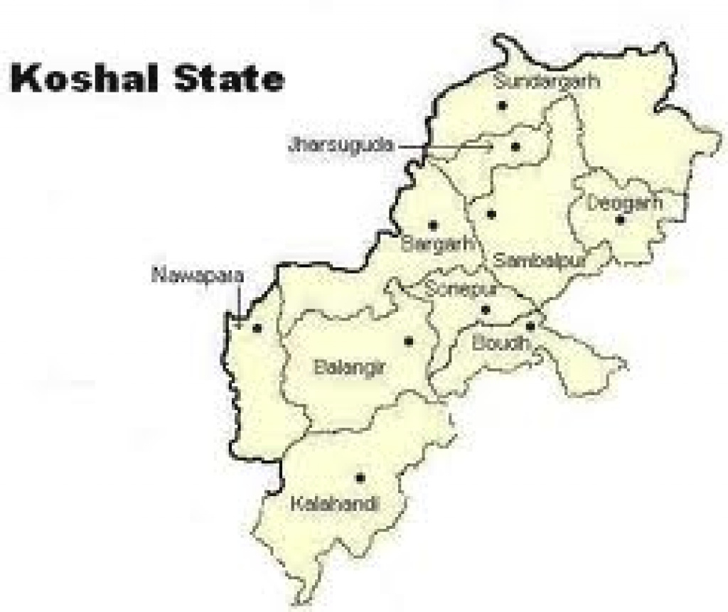 "Various Maps Of The Proposed ""Kosal State"" 